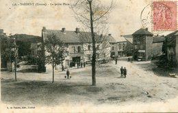Sardent La Petite Place Circulee En 1904 - France