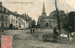 Sardent Place De L'eglise Circulee En 1904 - France