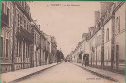 56 - Pontivy - La Rue Nationale - Editeur: Laurent Nel N°5 - Pontivy