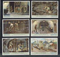 LIEBIG  - NL -  6 Chromos N° 1 à 6 -  Reeks/série S.1270 - De Ontginning Der Steenkolen - Extraction De La Houille. - Liebig