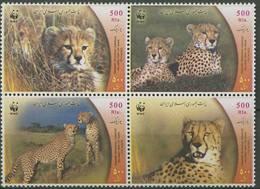 E62- Iran Persia 2003 WWF. W.W.F. Cheetah. Animals. World Wildlife Fund. - W.W.F.