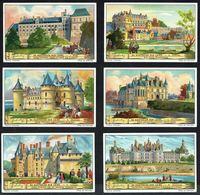 LIEBIG  - NL -  6 Chromos N° 1 à 6 -  Reeks/série S.1272 - De Kasteelen Der Loire - Les Châteaux De La Loire. - Liebig
