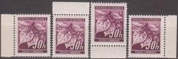 15/ Bohemia & Moravia; ** Nr. 24 Dark Violet; Complete Borders - Ungebraucht