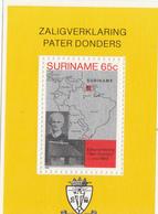 1981 Surinam Voyage To Surinam MAP Souvenir Sheet MNH - Surinam