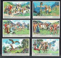 LIEBIG  - NL -  6 Chromos N° 1 à 6 -  Reeks/série S.1285 - Het Leven Op De Alpenweiden - La Vie Sur L'alpage. - Liebig