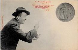 CPA Monnaie Numismatique Non Circulé Hercule - Monnaies (représentations)