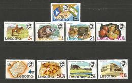 LESOTHO - MINERALEN Etc  - MNH STAMPS   - D 1710 - Lesotho (1966-...)