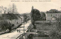 (63) CPA  Montalieu  Quartier Du Furon Route De Morestel   (Bon Etat) - France