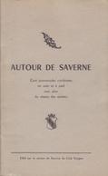 SAVERNE-LIVRET 47 PAGES 12.5 X 22 CM  IMP.A.MOSBACH-1957 - Alsace