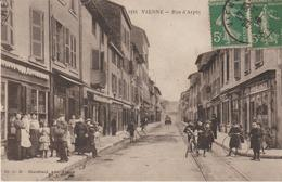 Vienne- Rue D'arpot (belle Carte Animée) - Vienne