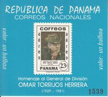 1982 Panama General Herrera  Souvenir Sheet MNH - Panama