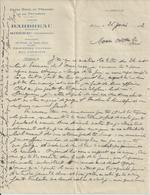 RIBERAC GARAGE BARBREAU HOTEL DU PERIGORD PATES FOIE GRAS CHAUFFAGE CENTRAL ANNEE 1932 - Non Classés