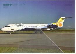 TradeAir Croazia Fokker 100 9A-BTD Trade Air - 1946-....: Era Moderna