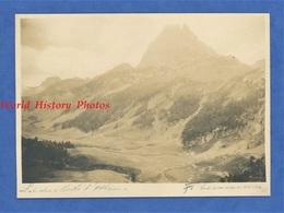 Photo Ancienne Signée Du Photographe Fernand Levavasseur ( 1875 1957 ) - Pic Du Midi D' OSSAU - Pyrénées Atlantiques - Places