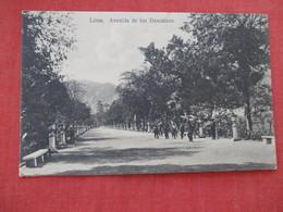 Lima Peru Avenue De Los Descalzos   Ref 2932 - Peru