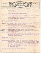 Itinéraires Michelin Format A4 Donc Avt 1926 Itinéraires N 13 232 Km - Altri