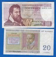Belgique  5  Billets - Belgium