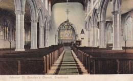 CRANBROOK - ST DUNSTANS CHURCH INTERIOR - England