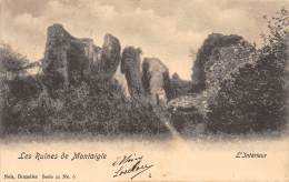 Les Ruines De Montaigle - L'Intérieur - Onhaye