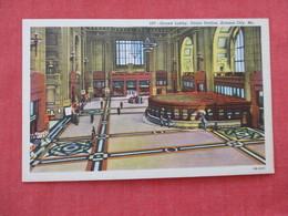 Fred Harvey  Grand Lobby Union Station Kansas City – Missouri==ref 2932 - Kansas City – Missouri