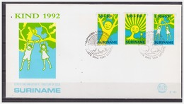 Surinam / Suriname 1992 FDC 161 Kind Child Kinder Enfent - Surinam