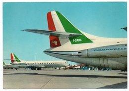 ALITALIA AIRLINES - CARAVELLE VI S.E.210 / AVIATION / AVION / AIRPLANE - 1946-....: Era Moderna