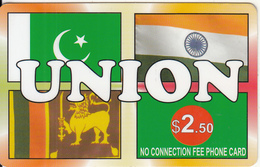 CANADA - Union, MCI Prepaid Card $2.50(416-848-6789, White Reverse), Used - Canada