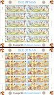 Europa CEPT 1989 - Man, Giochi Di Bambini. 2 Fogli MNH** - Europa-CEPT