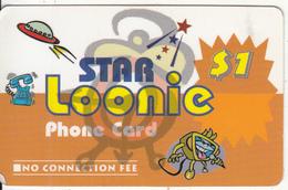 CANADA - Star Loonie Promotion Prepaid Card, Used - Canada