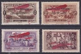 GRAND LIBAN  YT. PA 17/20* TB Secours Aux Réfugiés - Lebanon - Great Lebanon (1924-1945)