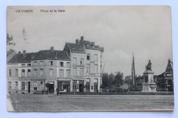 Place De La Gare, Vilvorde, België Belgique, 1924 - Vilvoorde