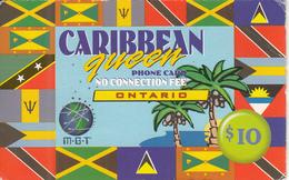 CANADA - Caribbean Queen, Ontario, MGT Prepaid Card $10, Used - Canada