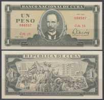 1982-BK-8 CUBA 1982 1$ UNC. JOSE MARTI. - Kuba