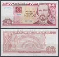 2016-BK-50 CUBA 2016 100$ UNC CARLOS MANUEL DE CESPEDES. - Cuba