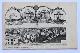 The Public Schools, Yarmouth, N.S. Nova Scotia, Canada, 1900-10s - Yarmouth
