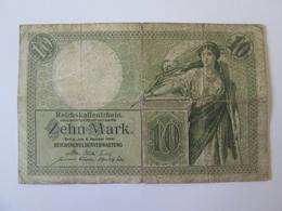 Germany 10 Mark 1906 Banknote - [ 2] 1871-1918 : German Empire