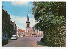 CHATILLON -1986-- L'église  (voitures )--cachet  Chatillon - Châtillon