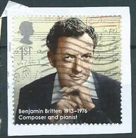 GROSSBRITANNIEN GRANDE BRETAGNE GB 2013 Benjamin Britten (1913-1976) 1st  SG 3459 SC 3163 MI 3447 YV  3844 - Usati