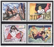 MONACO 1980 SERIE N°1241 A 1244 - 4 TP NEUFS** - Monaco
