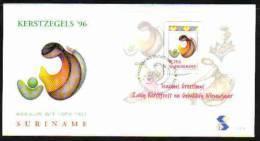 Surinam / Suriname 1996 FDC 198a Kerstmis Christmas Weihnachten Noel - Surinam