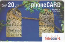 LIECHTENSTEIN - Telecom FL Prepaid Card CHF 20, Exp.date 06/04, Used - Liechtenstein