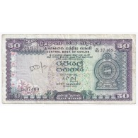 SRI LANKA - PICK 81 - 50 RUPEES - 26/08/1977 - TRES BEAU - Sri Lanka
