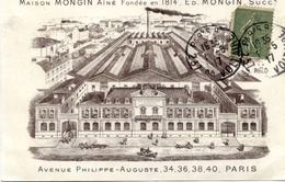 PARIS 11è - Maison MONGIN Aîné Fondée En 1814 - Fabrique De Scies, 34 à 40 Avenue Philippe-Auguste - Paris (11)