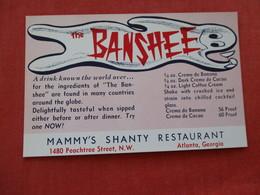 The Banshee-- Mammy's Shanty Restaurant  ---------Georgia > Atlanta    =ref 2933 - Atlanta