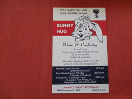 Bunny Hug   Mammy's Shanty Restaurant  ---------Georgia > Atlanta    =ref 2933 - Atlanta