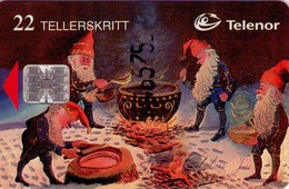 TARJETA TELEFONICA DE NORUEGA. N-86 (053) - Norway