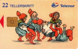 TARJETA TELEFONICA DE NORUEGA. N-60 (054) - Norway