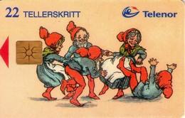 TARJETA TELEFONICA DE NORUEGA. N-60 (054) - Noruega