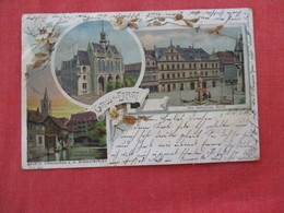Germany > Thuringia > Erfurt    Stamp & Cancel=ref 2933 - Erfurt