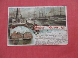 Germany >  Gruss Aus  Hamburg     Stamp & Cancel=ref 2933 - Germany